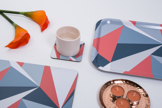 Geometric Placemat from MAiK London