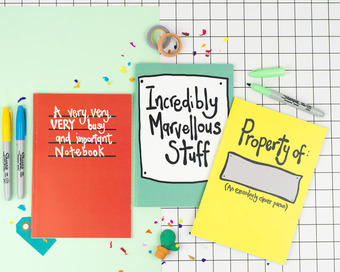 Great little gift ideas for very marvellous people