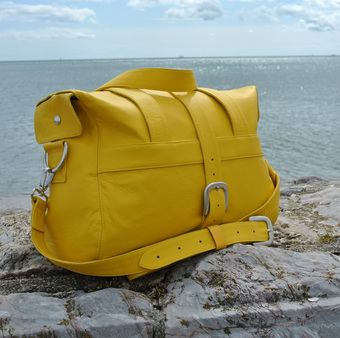 Yellow Overnight Bag
