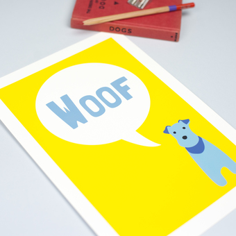 Woof Print by Forever Foxed